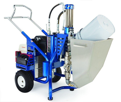 Graco GH 933 with Material Hopper